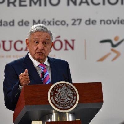 FOTOS | Entrega AMLO Premio Nacional del Deporte 2019 a destacados atletas mexicanos