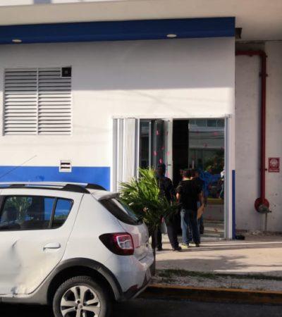 ASALTAN HOSPITAL AMERIMED EN CANCÚN: Dos hombres con pistola se llevan al menos 30 mil pesos en efectivo