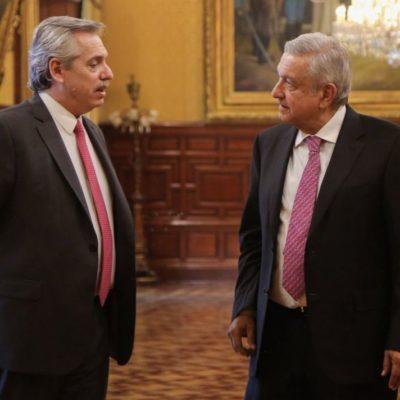 Confía Alberto Fernández en el 'mucho apoyo' que México podría brindar a la Argentina en el FMI