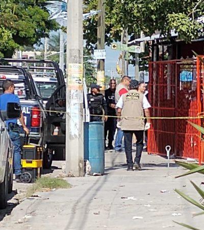 ASESINAN A UNA MUJER EN UNA TAQUERÍA: Ataque a balazos en negocio de la SM 76 de Cancún