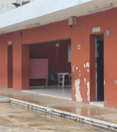 Lluvias por frente frío 12 provocan que escuelas de Kantunilkín precipitaran el megapuente revolucionario