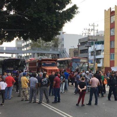 SE ACABÓ LA TOLERANCIA: Podrá policía de la CDMX 'romper' bloqueos si diálogo no da resultados