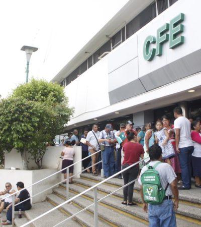 Ordena INAI a CFE transparentar programa 'Adiós a tu deuda' con gobierno de Tabasco