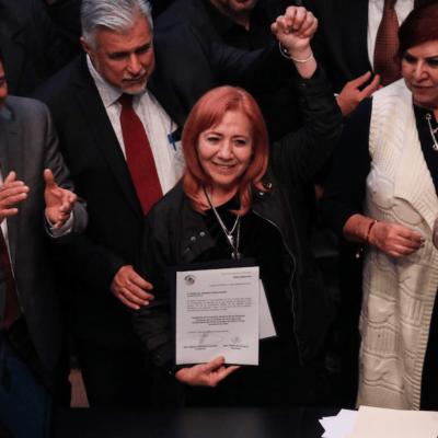 """""""NO RECONOCEMOS NI HAREMOS CASO A RECOMENDACIONES"""": Desconoce Asociación Nacional de Alcaldes a Rosario Piedra como titular de la CNDH"""