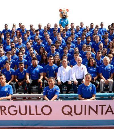 Entrega Carlos Joaquín el Premio Estatal del Deporte 2019 a tres atletas y un entrenador