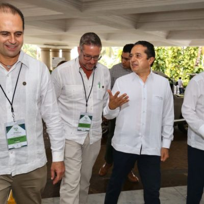 REUNIÓN EN CANCÚN: Realizan 4o Encuentro de la Red Nacional de Mesas Seguridad y Justicia