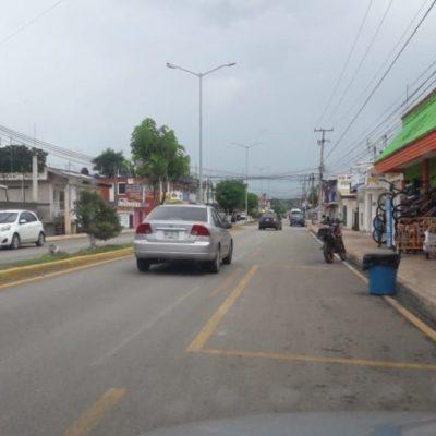 Exhorta la Dirección de Transporte a mototaxistas a respetar nuevos señalamientos viales en José María Morelos