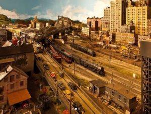 No sólo de música vive Rod Stewart… pasó 26 años construyendo una maqueta inspirada en Londres y Nueva York