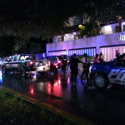 Detienen a dos por cobrar 'derecho de piso' a Cervercería Chapultepec en Playa del Carmen