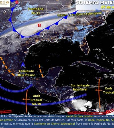 PRONÓSTICO DEL CLIMA: Seguirán el calor y las lluvias intermitentes en Quintana Roo