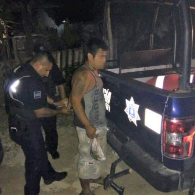 Detienen a sujeto al confesar asesinato del amante de su nuera en Playa del Carmen