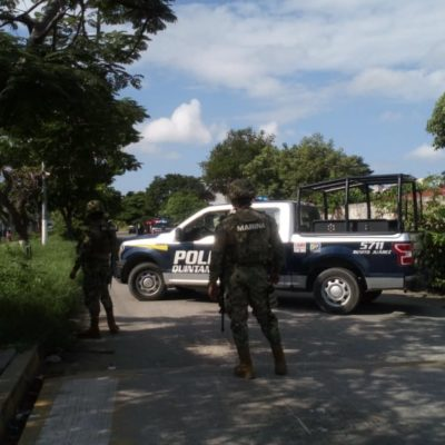 BALEAN A AUTOMOVILISTA EN LA REGIÓN 224: Desalojan escuela por alarma provocada por disparos en Cancún