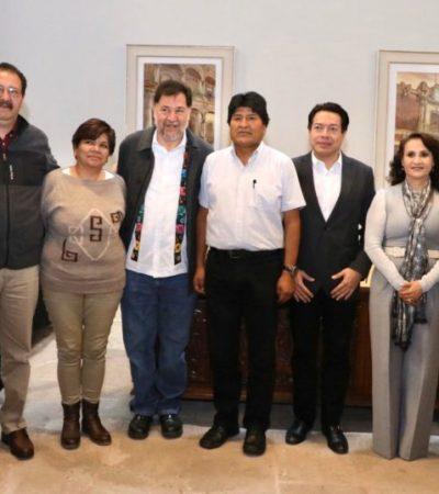 Diputados de Morena lanzan propuesta de organizar 'coperacha' para Evo Morales