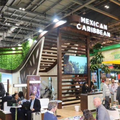 Pabellón turístico del Caribe Mexicano promociona destinos de la Zona Maya y la zona sur de QR en la Feria Turística de Londres