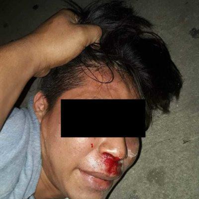 """""""¡YA NO LO VUELVO A HACER CARNAL!"""": Tunden vecinos a un hombre tras presuntamente robar y golpear a un anciano vendedor de chicles en Cancún (VIDEO)"""