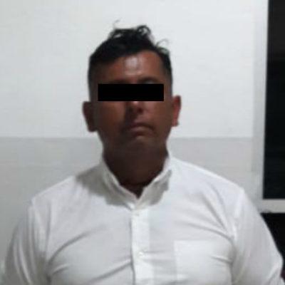 Detienen a sujeto por robo a comercio en la Sm 07 de Cancún