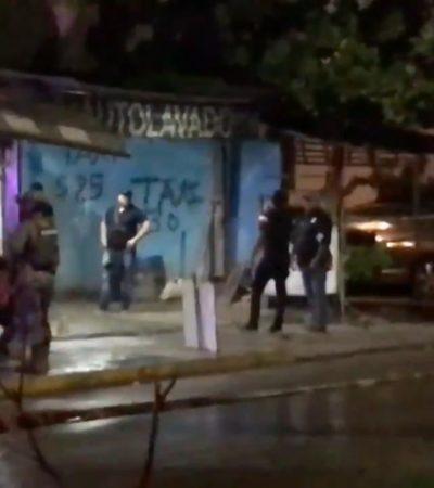 EJECUCIÓN CONSUMADA: Fallece en el hospital empleado de lavadero de autos tiroteado la noche del lunes en Cancún