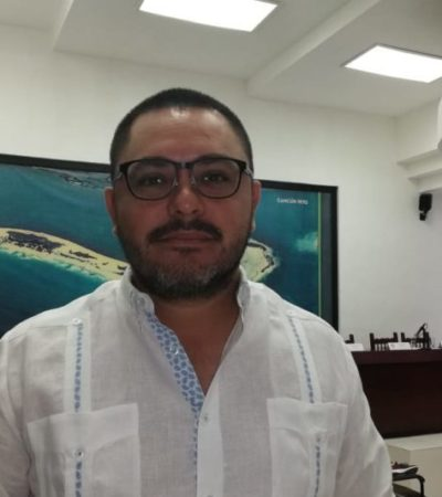 """""""Ya se tomó la decisión y ahora hay que apoyarla"""", responde Issac Janix sobre inconformidad por logo del 50 aniversario de Cancún"""