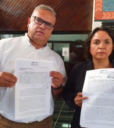 Solicitan activistas al Congreso exhortar a Mara Lezama para que transparente el manejo y aplicación de los recursos obtenidos por el cobro del Derecho al Saneamiento Ambiental