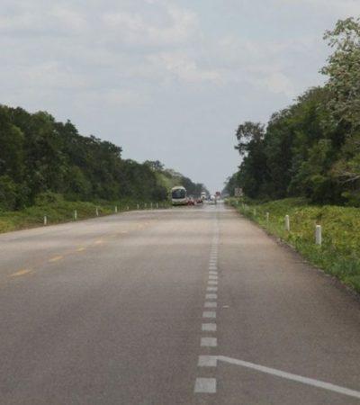 Emite Cdheqroo medida cautelar para que la SSP y ayuntamientos implementen acciones inmediatas y garanticen seguridad a conductores en el tramo carretero Bacalar-Tulum