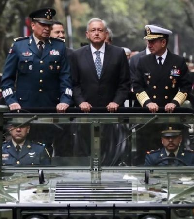 Ofrecen Secretarios de las Fuerzas Armadas 'lealtad absoluta' a AMLO; no me equivoqué al elegirlos, dice el Presidente