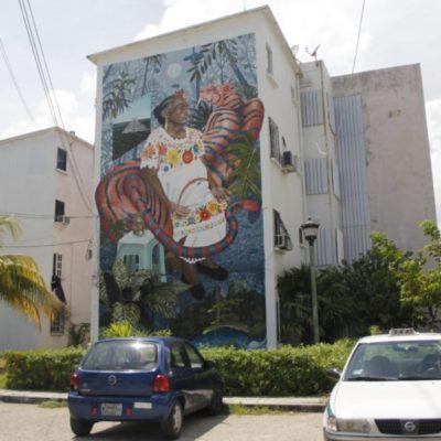 Anuncian que murales urbanos de Cancún cobrarán vida con uso de app