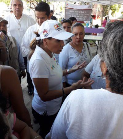 """""""ESTAMOS CON NÚMEROS A LA BAJA"""": Asegura Mara Lezama que a un año del Mando Único, los homicidios y la inseguridad están disminuyendo en Cancún"""