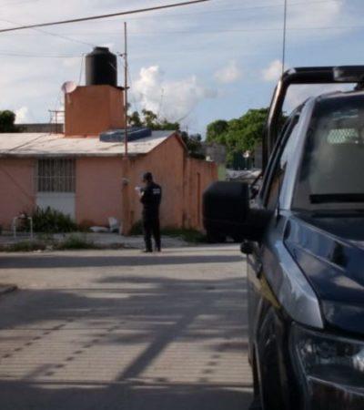 Reportan asesinato de un hombre de la tercera edad en la Región 91 de Cancún
