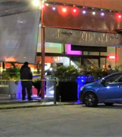 Fallece parroquiano durante la madrugada en el bar Guanatos, en Playa del Carmen