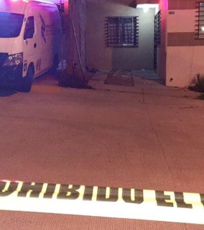 Hallan cadáver enterrado en el domicilio de una presunta mujer policía en Aguascalientes