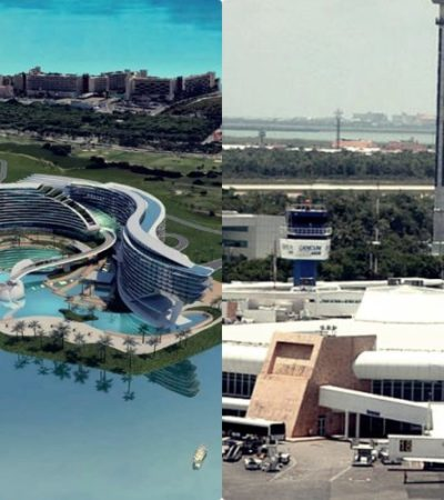 METEN EN LA BOLSA PROYECTOS YA CONOCIDOS PARA QR: Grand Island y ampliación del aeropuerto de Cancún, entre las obras de índole privada anunciadas por AMLO para 2020 en QR