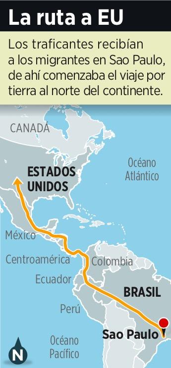 Desmantela Brasil red de trata de personas que pasaba por México hasta la frontera con EU