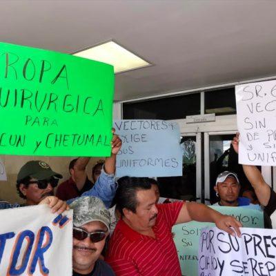 """""""TODO ESTÁ REMENDADO Y PARCHADO"""": Trabajadores denuncian falta de recursos, equipo y personal médico en clínica del ISSSTE durante visita del director en Chetumal"""