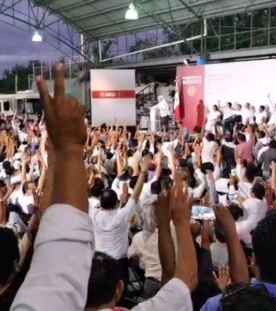 ¿SE DESCARRILA EL TREN MAYA?: Plantea AMLO cancelar su macro proyecto si hay oposición; anuncia consultas pueblo por pueblo