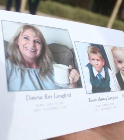 Segundo día de funerales de los LeBarón; despiden a Rhonita Miller y sus tres hijos en Chihuahua