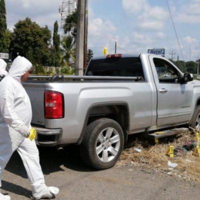 Comando ejecuta a tres hombres y deja a otro malherido en Tapachula