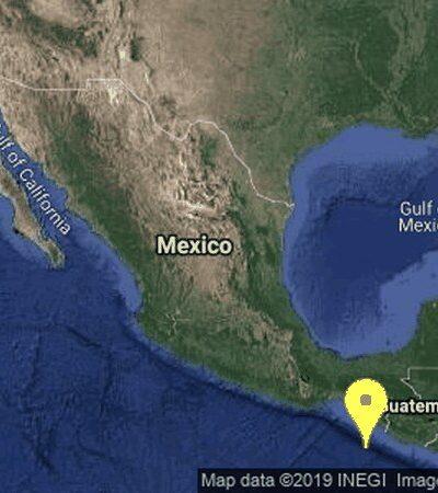 SACUDIDA EN CHIAPAS: Registran sismo de magnitud 6.4 grados durante la noche del martes