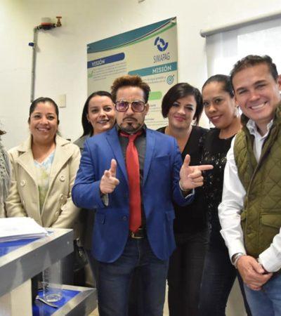 FOTOS   El 'doble mexicano' de Tony Stark recibe trato de 'estrella' en Guanajuato