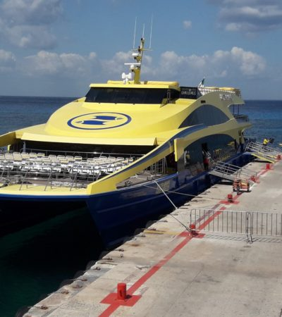 DA ULTRAMAR GOLPE AL BOLSILLO DE QUINTANARROENSES: Anuncia la naviera aumento en el costo del boleto en la ruta Playa-Cozumel, pero sólo para locales
