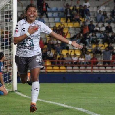 La quintanarroense Viridiana Salazar se convierte en la campeona de goleo del torneo Apertura 2019 de la Liga MX Femenil