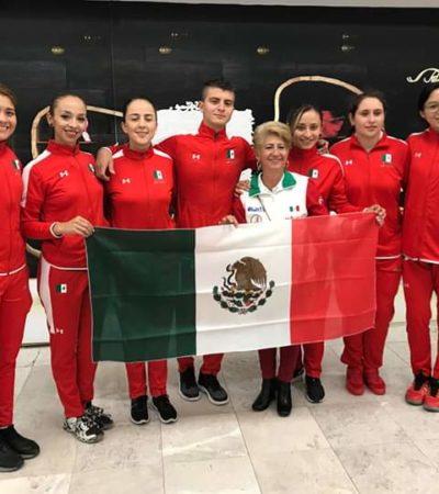 Cozumeleña con discapacidad, seleccionada mexicana en voleibol