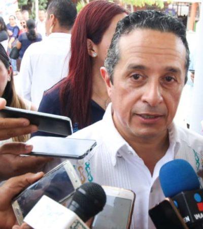 """""""EVIDENTEMENTE NO ESTOY SATISFECHO"""": Baja 48% incidencia delictiva en Cancún y 7% en Quintana Roo, reporta el Gobernador ante empresarios, pero reconoce que no es para celebrar"""