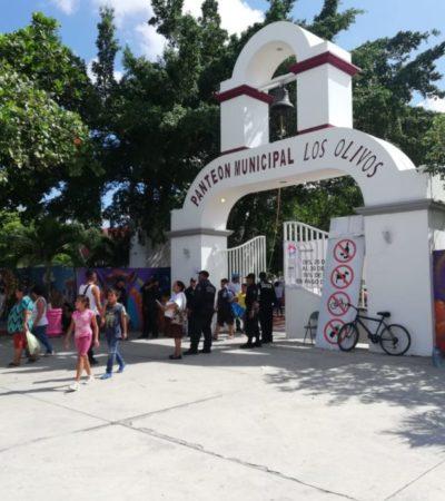 MILES DE FAMILIAS RECUERDAN A SUS MUERTOS: Creyentes prepararon sus altares para recibir a las almas de sus seres queridos en Cancún