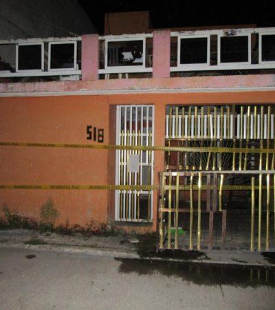 CATEO EN LA SM 74 POR EL CASO DEL 'DISTRITO CAVANA': Revisan domicilio supuestamente relacionado con la desaparición de un joven en discoteca de Cancún