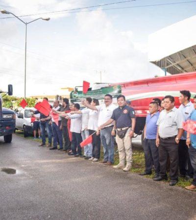 Inicia intensa campaña de descacharrización en Tulum para evitar proliferación del mosco transmisor de dengue, zika y chikungunya