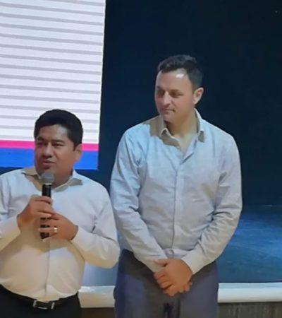 ANUNCIAN CUMBRE MUNDIAL DE COMUNICACIÓN POLÍTICA EN CANCÚN: Critica Filiberto Martínez al equipo de Comunicación Social de Carlos Joaquín por no difundir bien su trabajo