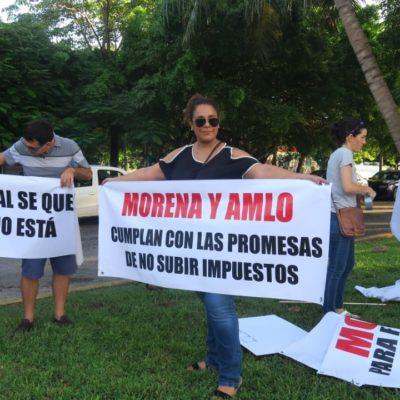 PROTESTAN POR 'AJUSTE' DE VALORES CATASTRALES: Ante vecinos de zonas residenciales, Alcaldesa rechaza incremento del impuesto predial