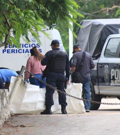 HALLAN MUJER EJECUTADA EN EL CENTRO DE CANCÚN: Encuentran cadáver envuelto en sábana a unos metros del auditorio Cecilio Chi, en la SM 24