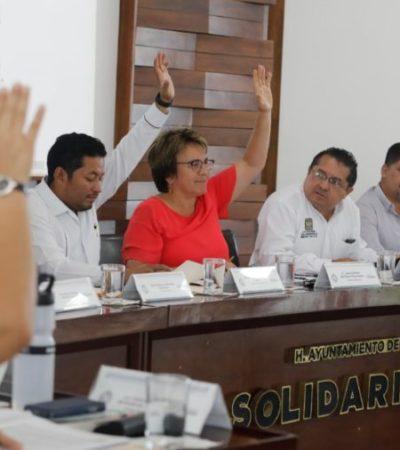 Cabildearán regidores nuevos impuestos y aumentos que propone el gobierno de Laura Beristain en Solidaridad