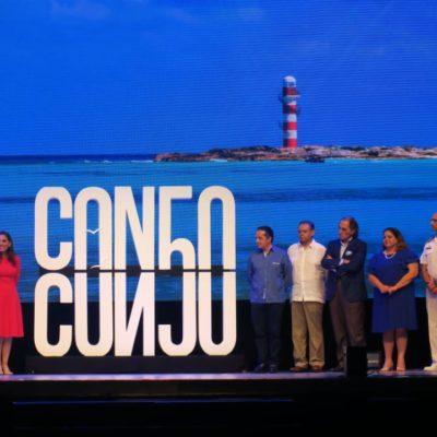 """""""LO QUE QUISIERON DECIR…"""": Este es el logo por los 50 años de Cancún y lo que se buscaba proyectar (VIDEO)"""